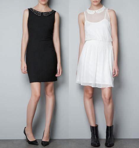 Vestidos de fiesta de Zara TRF 2012