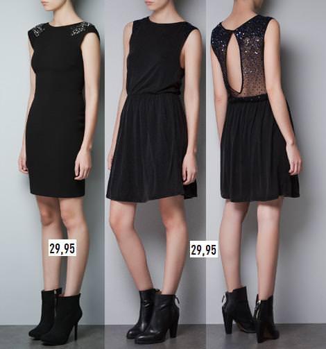 Vestidos fin de año Zara 2012 2013