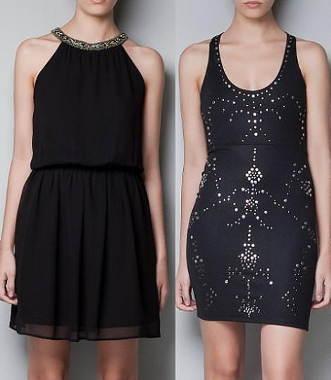 Vestidos Nochevieja de Zara 2012 2013