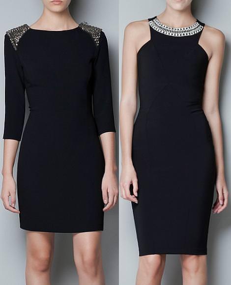Vestidos de fiesta de Zara otoño invierno 2012 2013