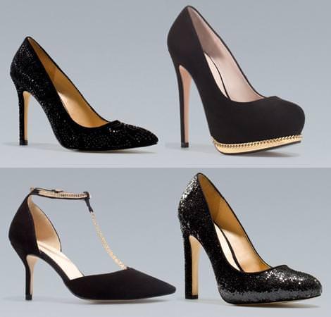 Zapatos de fiesta de Zara otoño invierno 2012 2013