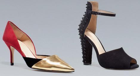 Zapatos de Zara otoño invierno 2012 2013