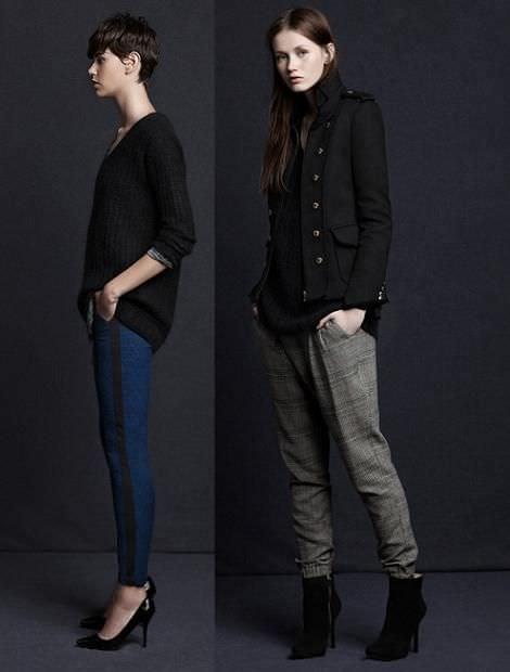 Zara TRF moda otoño invierno 2012 2013