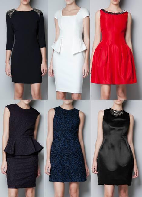 Ropa de Zara Woman otoño 2012, vestidos