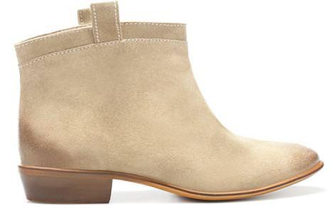 Los nuevos zapatos de Zara del invierno 2012, botines camperos