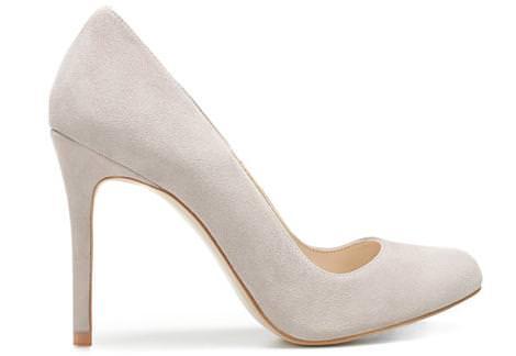 Los nuevos zapatos de Zara del invierno 2012, salones de ante