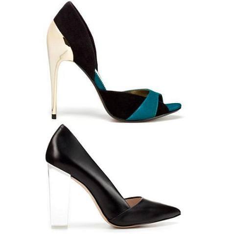 La moda Nuevo Tendencia Zara: Zapatos De Salón Primavera 2012