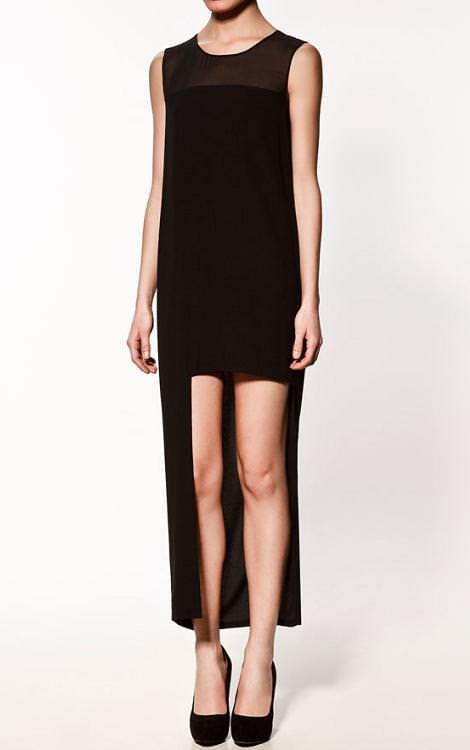 La nueva colección de Zara, vestido asimétrico