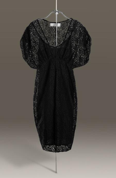 Vestido de fiesta, de Zara (otoño invierno 2009 2010)