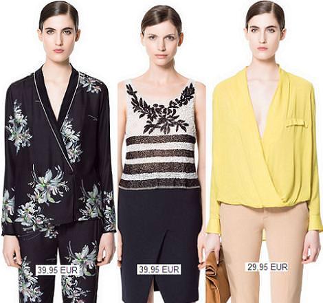 Ropa de Zara primavera verano 2013