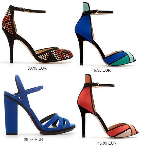 Sandalias de Zara primavera verano 2013