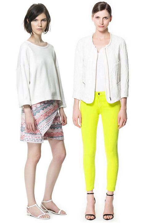 Zara colección primavera verano 2013