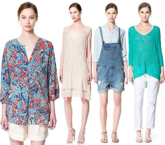 Zara es moda Tendencias verano 2013 para la mujer
