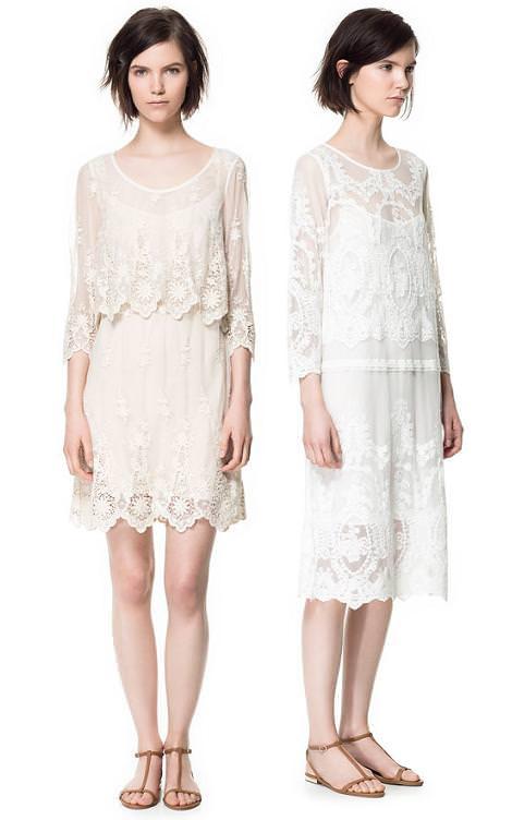 Zara primavera verano 2013 ropa y vestidos