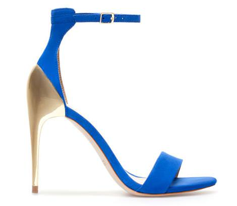 Zara primavera verano 2013 zapatos y sandalias de fiesta