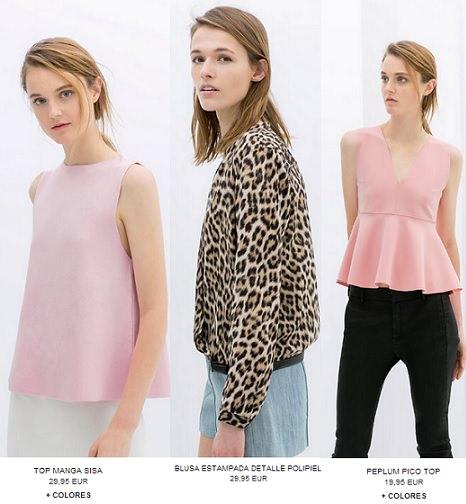La nueva colección de ropa y accesorios de Zara primavera verano 2014
