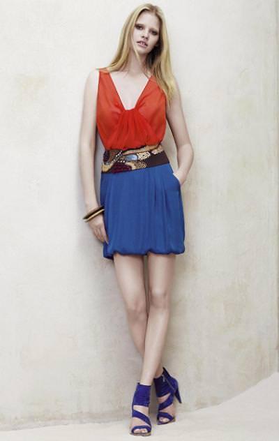 estilo y tendencias de Zara primavera verano 2009