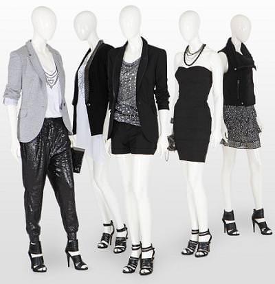 verano 2009, look en negro de Zara