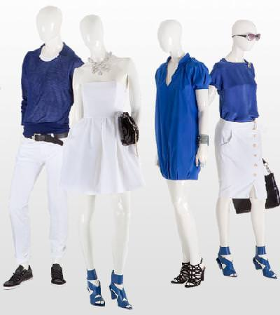 color azul de Zara primavera verano 2009