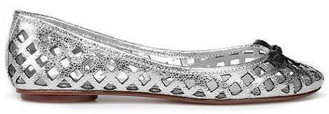 zapatos de moda de zara primavera plateado