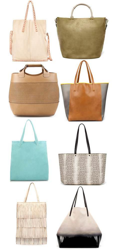 Bolsos Zara primavera 2012 shopper