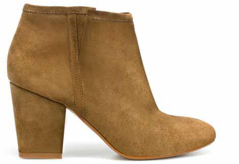 zapatos de moda de zara primavera botin campero