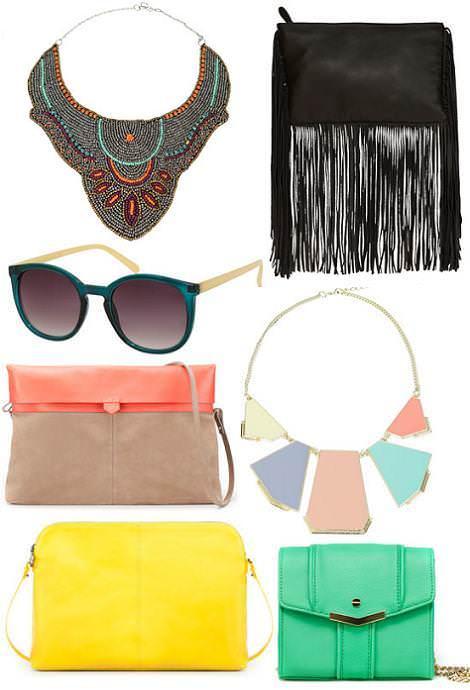 Colección Zara primavera 2012 accesorios y bolsos