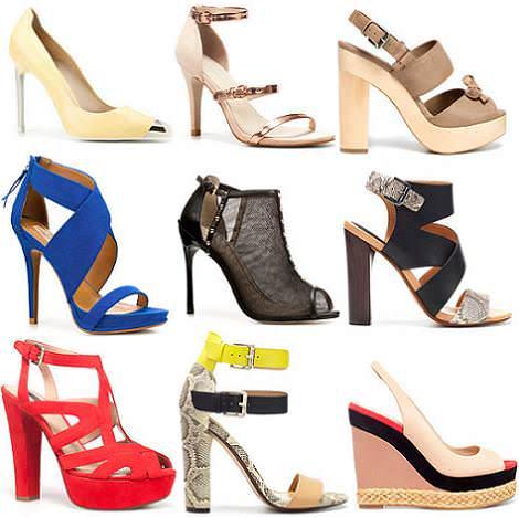 Colección Zara primavera 2012 zapatos
