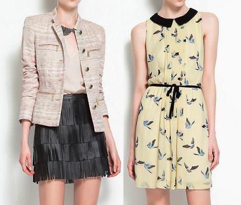 Colección Zara primavera 2012