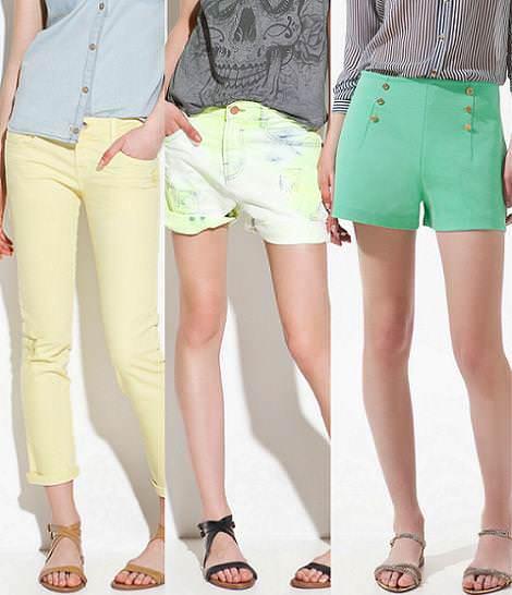 Nueva ropa de Zara primavera verano 2012 pantalones y shorts