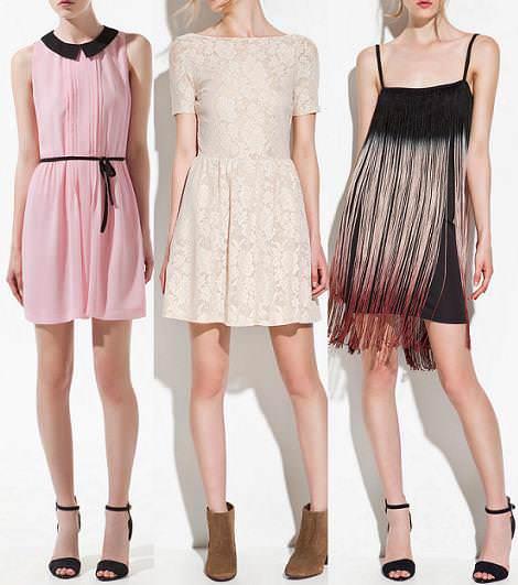 Nueva ropa de Zara primavera verano 2012 vestidos