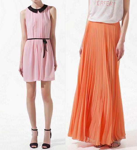 Nueva ropa de Zara primavera verano 2012