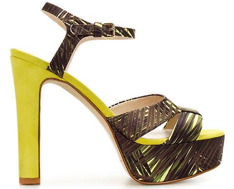 Sandalias de Zara del verano 2012