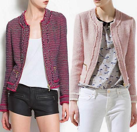 Tendencias primavera verano 2012: chaquetas tweed