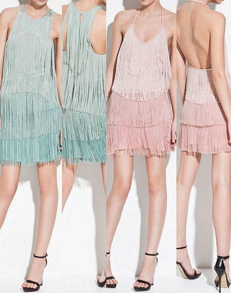Vestidos de noche de Zara verano 2012