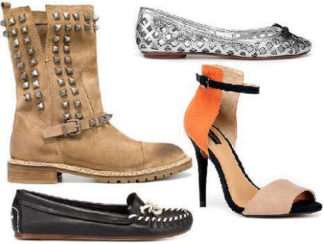 zapatos de moda de zara primavera 2012