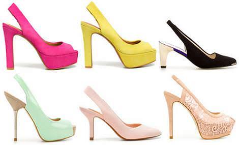 Zapatos Zara primavera verano 2012: destalonados