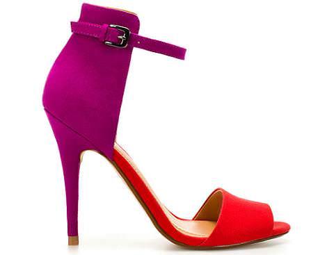 Zapatos Zara primavera verano 2012