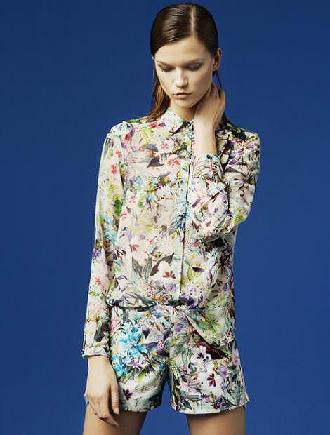 Zara lookbook  primavera 2012