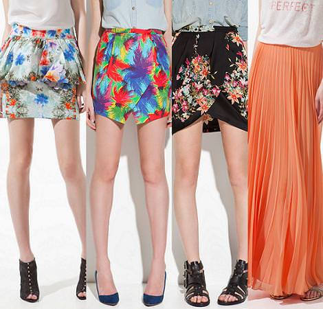 Zara moda primavera verano 2012