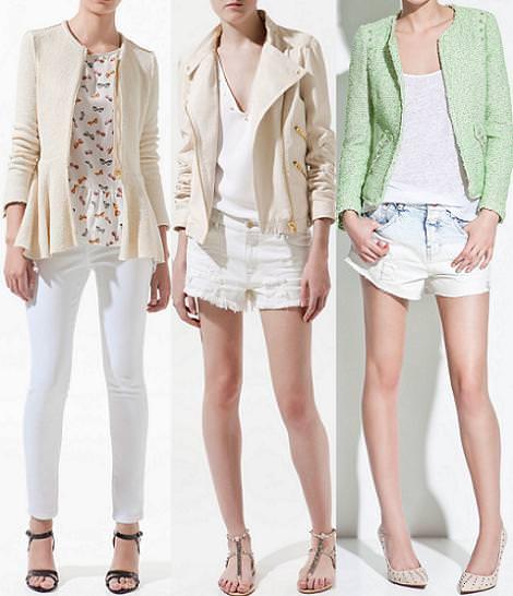 Zara ropa y tendencias del verano 2012