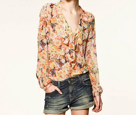la nueva ropa de zara trafaluc primavera 2012