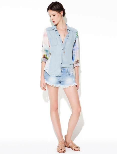 Zara TRF primavera verano 2012: denim
