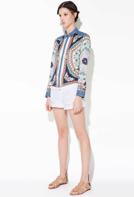 Zara TRF primavera verano 2012: estampados
