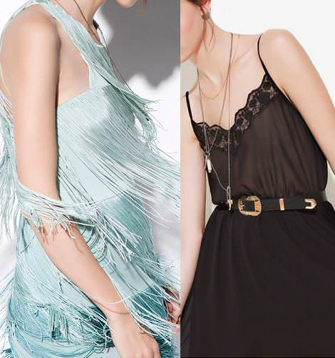Zara TRF primavera verano 2012: vestidos