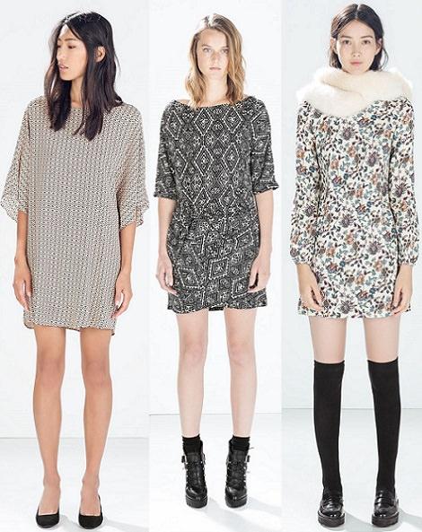 vestidos bohemios otoño invierno 2015