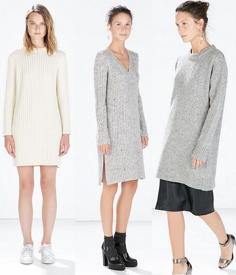 vestidos de punto otoño invierno 2015
