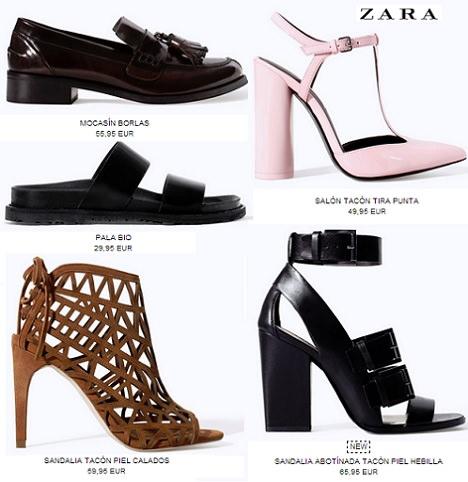 zapatos mujer zara primavera verano 2015