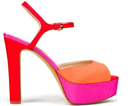 sandalia de colores de rebajas de zara