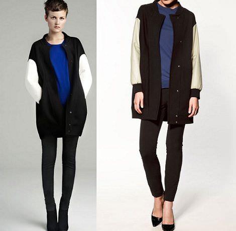 nuevas tendencias para el invierno 2012:los abrigos combinados